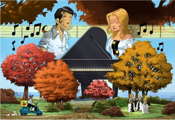 Piano-contact
