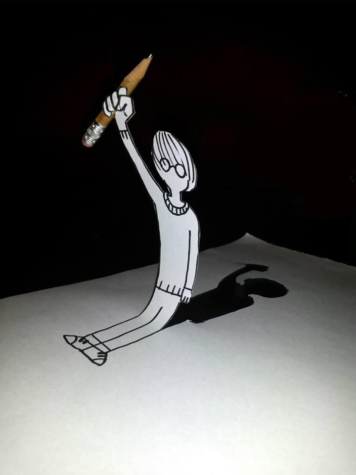 Arthur De Pins matérialise les dessins