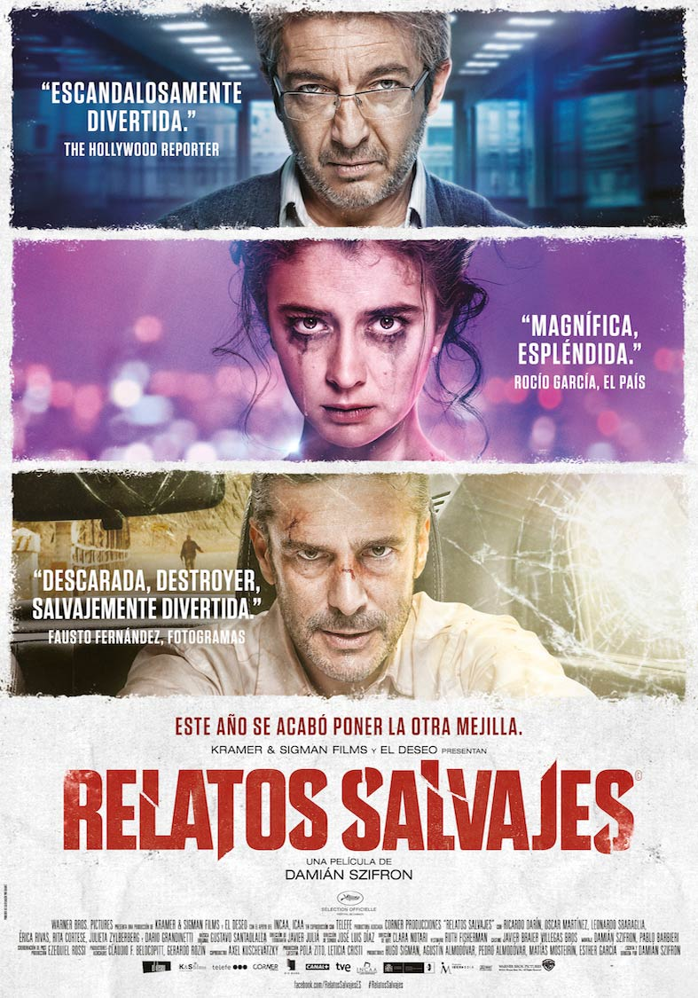 Relatos Salvajes affiche
