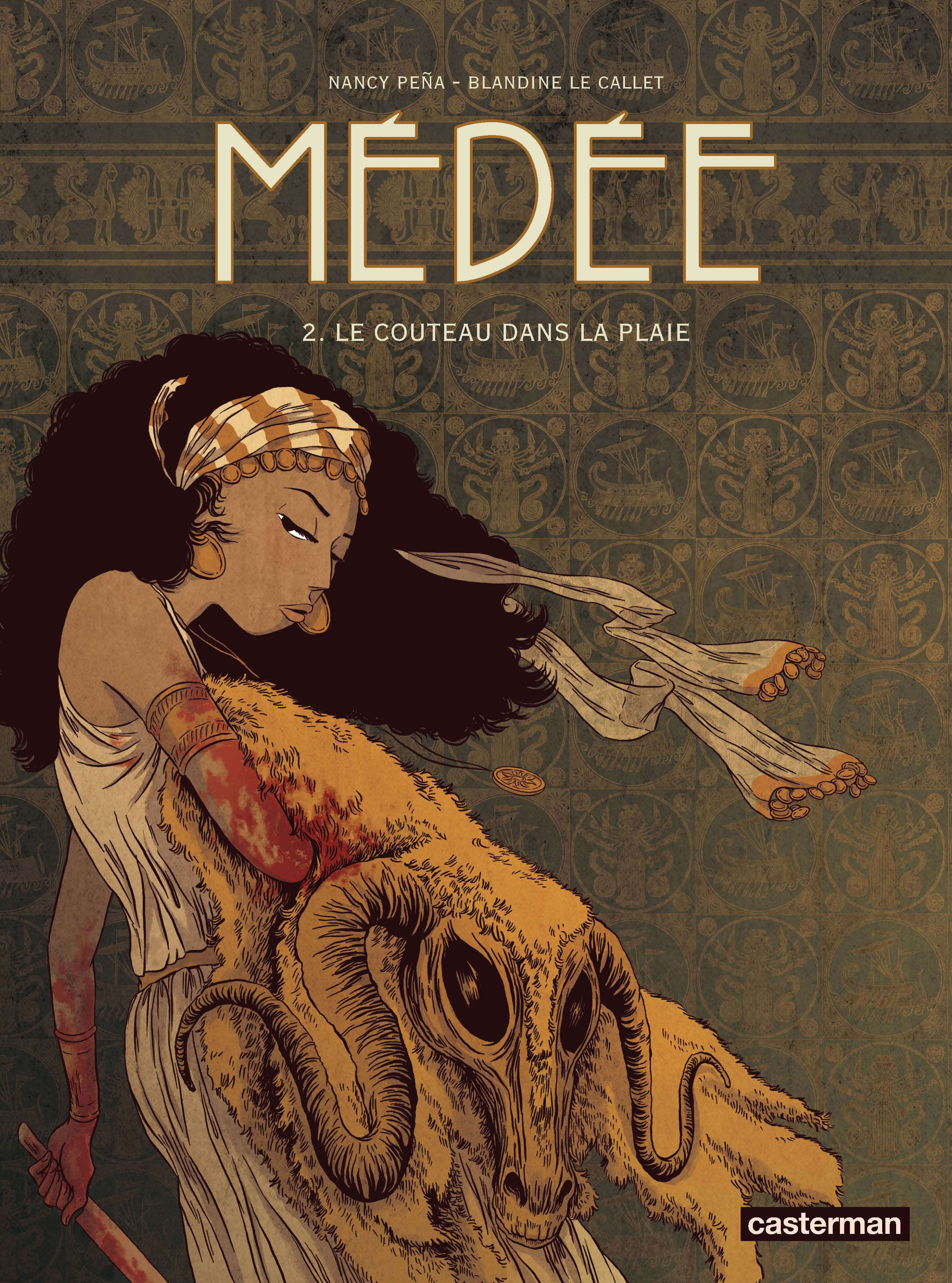 Médée Couverture BD