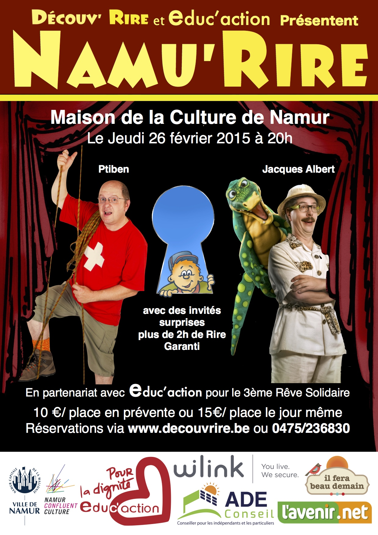 NamuRire 2015 affiche