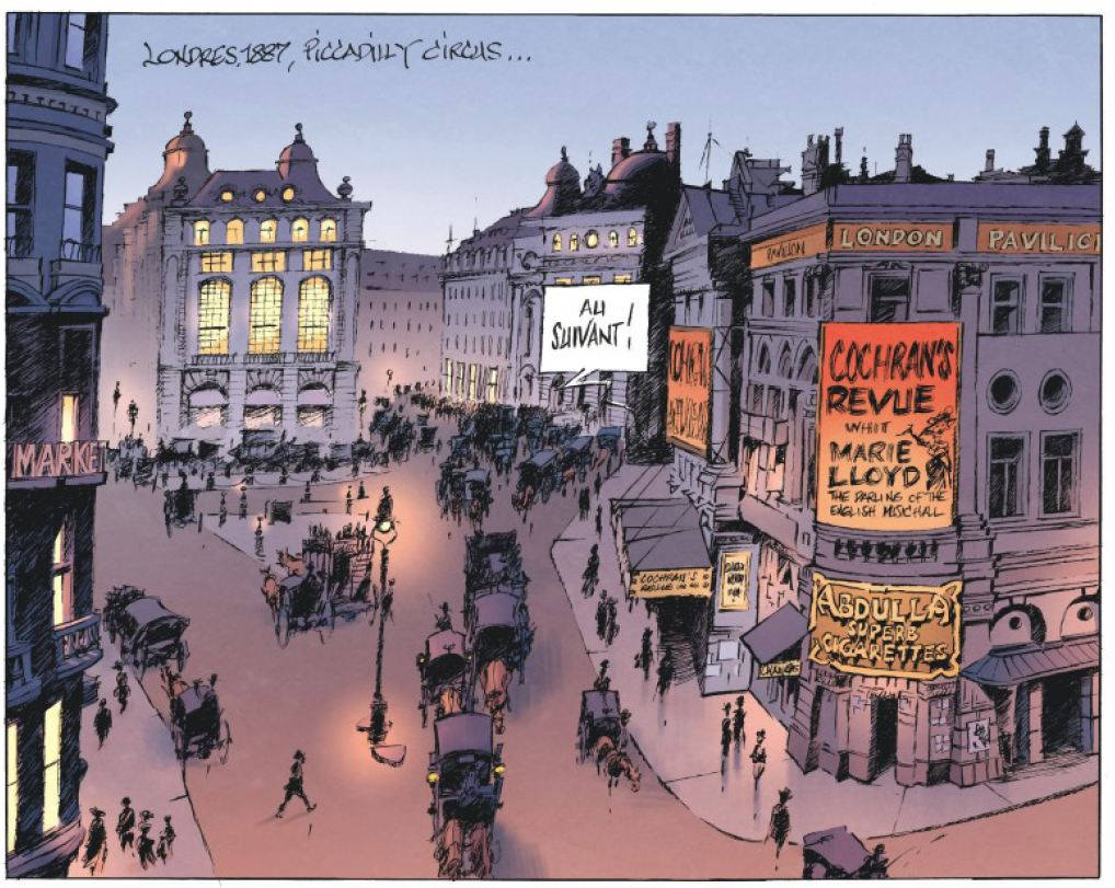 Le magicien de Whitechapel Benn Dargaud Piccadilly Circus