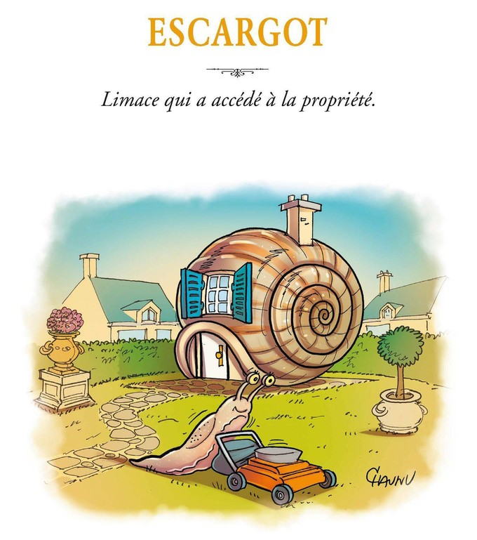 Laurent Baffie - Chaunu - Dictionnaire illustré - Kero - Jungle - escargot