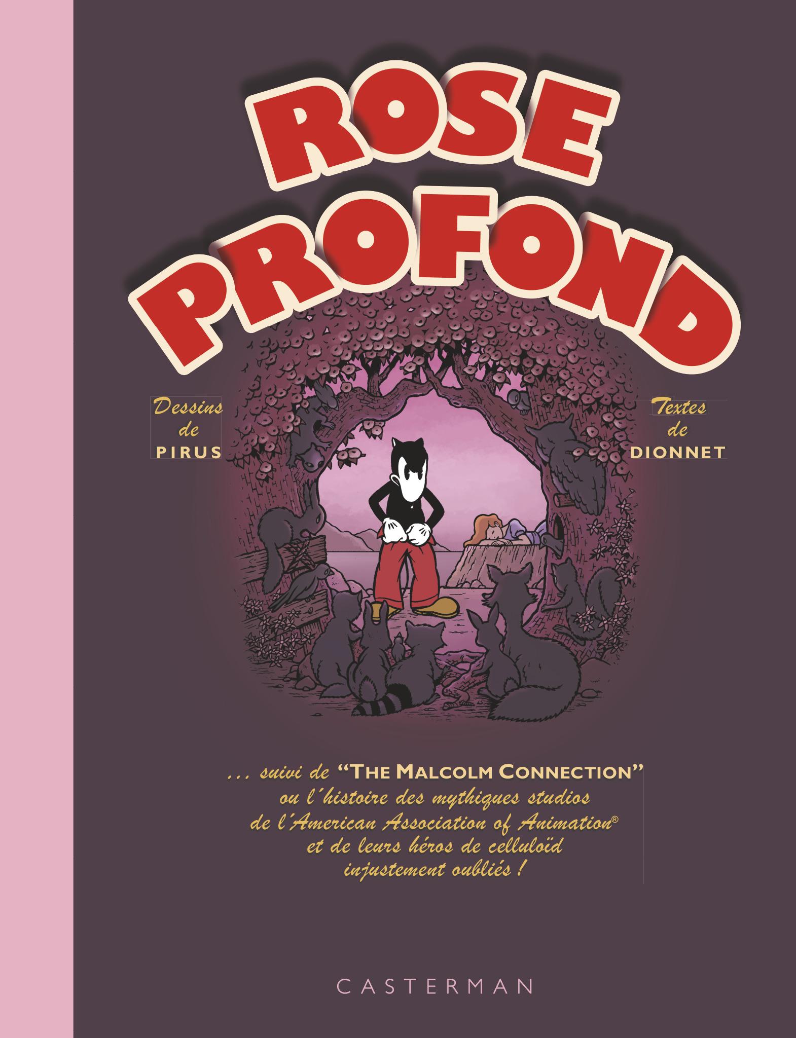 Rose Profond réédition Dionnet Pirus Casterman Couverture