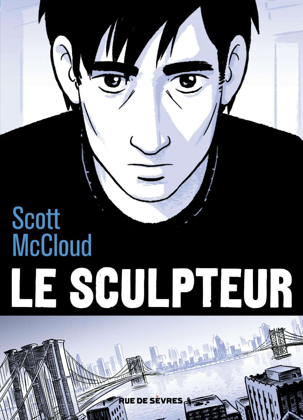 Scott McCloud - Le sculpteur - Rue de Sèvres - Couverture