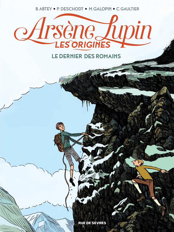 Arsene Lupin les origines Abtey Deschodt Galopin Gaultier Tome 2 Couverture