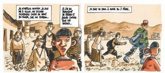 Le monde du dessous - Didier Tronchet - Anne Sibran - Casterman - Agustin