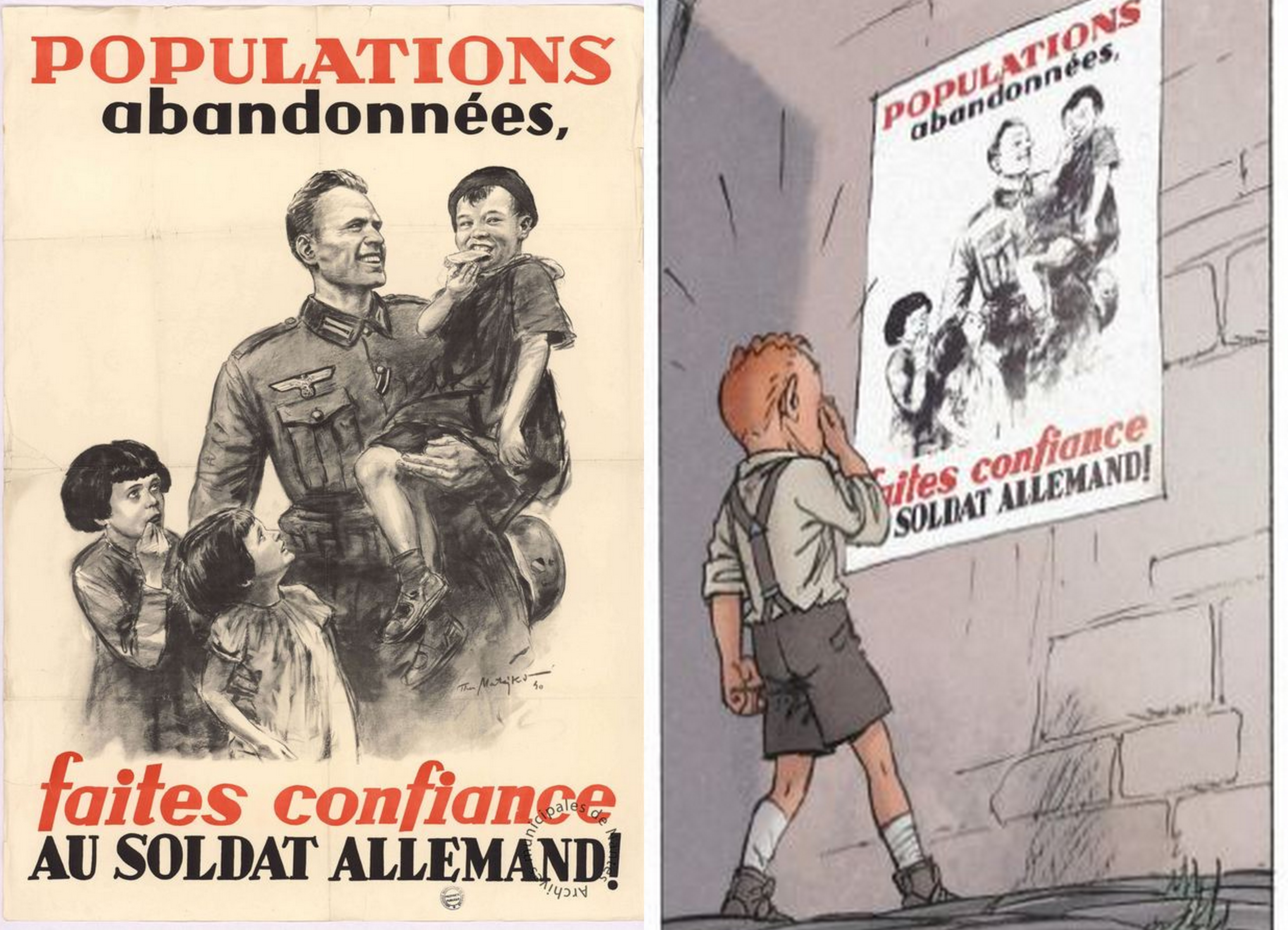 Les enfants de la résistance Dugomier Ers Faites confiance au soldat allemand