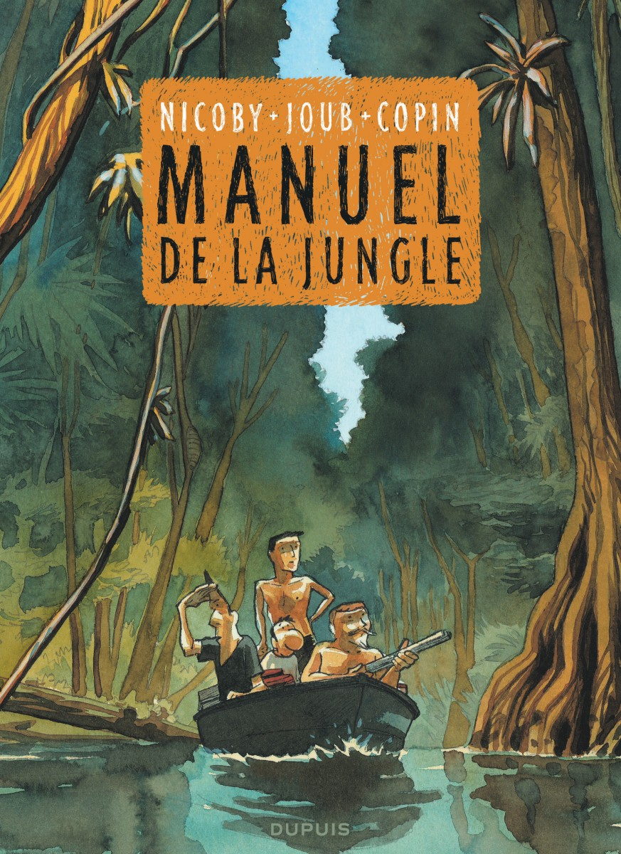 Manuel de la Jungle Nicoby Joub Copin Dupuis Couverture