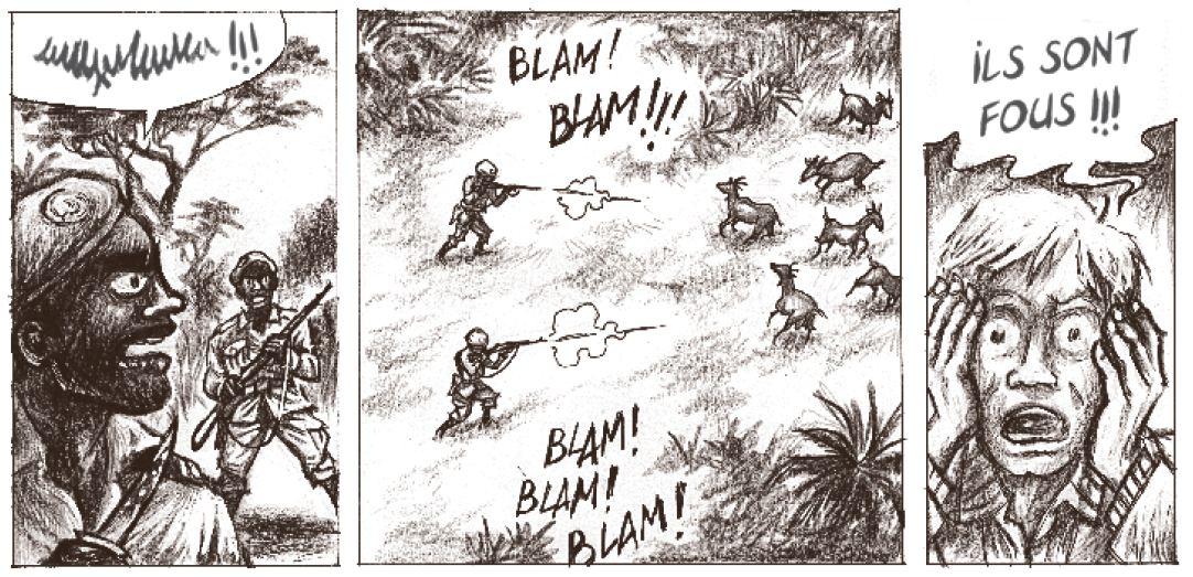 Mobutu dans l'espace - Ducoudray - Vaccaro - Futuropolis - fous
