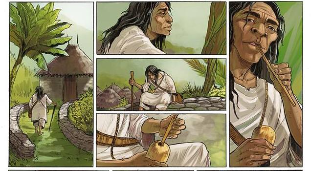 Monde Ancien - L'héritage des Taironas - de la Ruquerie Beauverger De Cock - Dupuis - indiens