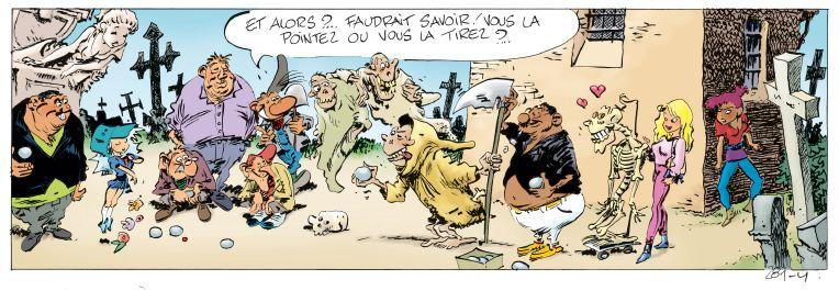 Pierre Tombal Tome 31 Peine de Mort Hardy Cauvin pétanque