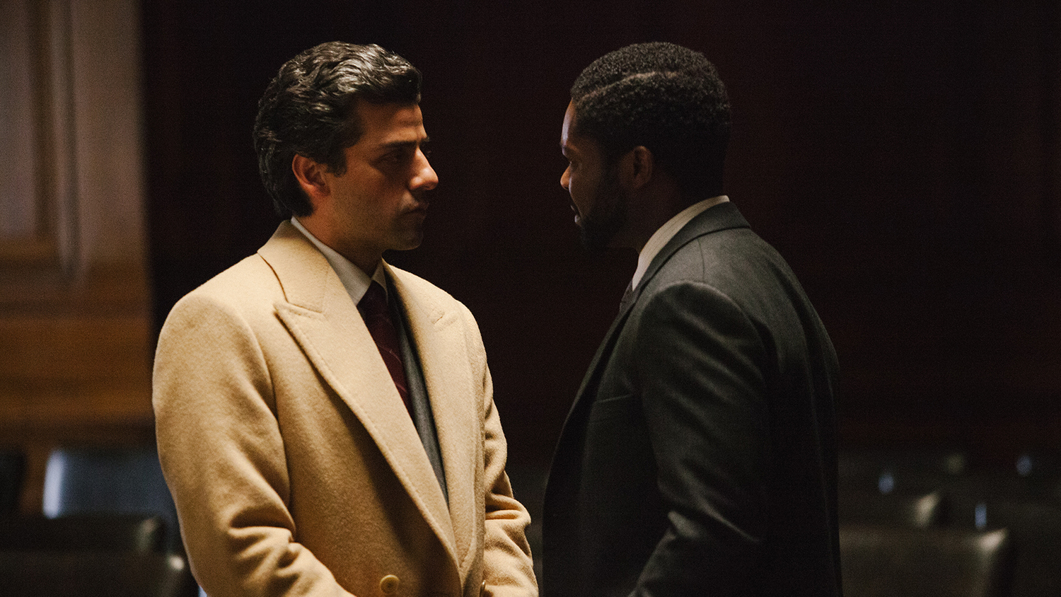 A Most Violent Year Jc Chandor Oscar Isaac Jessica Chastain face à face
