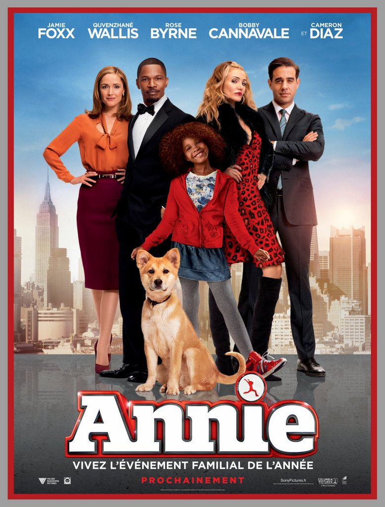 Annie - Will Gluck - 2014 - Affiche