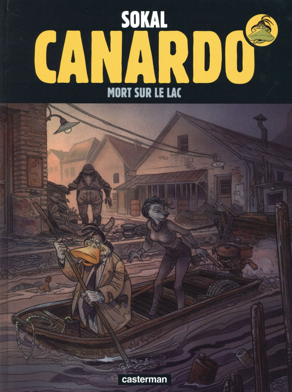 Canardo - 23 - Mort sur le lac - Sokal - Regnault- couverture