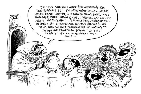 Fluide Glacial 40 ans Charlie Hebdo Dutreix