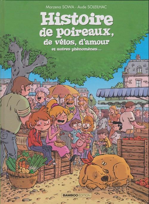 Histoire de Poireaux Soleilhac Sowa couverture