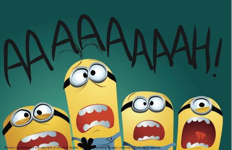 Les Minions - Ah-Koon - Collin - BD - peur