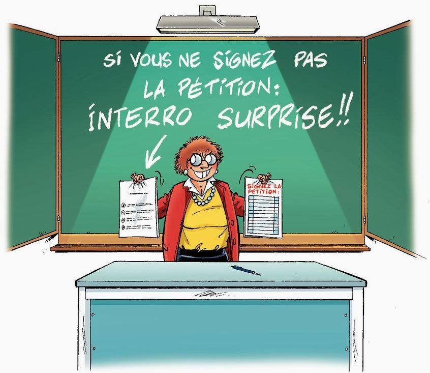 Les Profs - Tome 17 - Sortie Scolaire - Erroc - Pica - Interro surprise