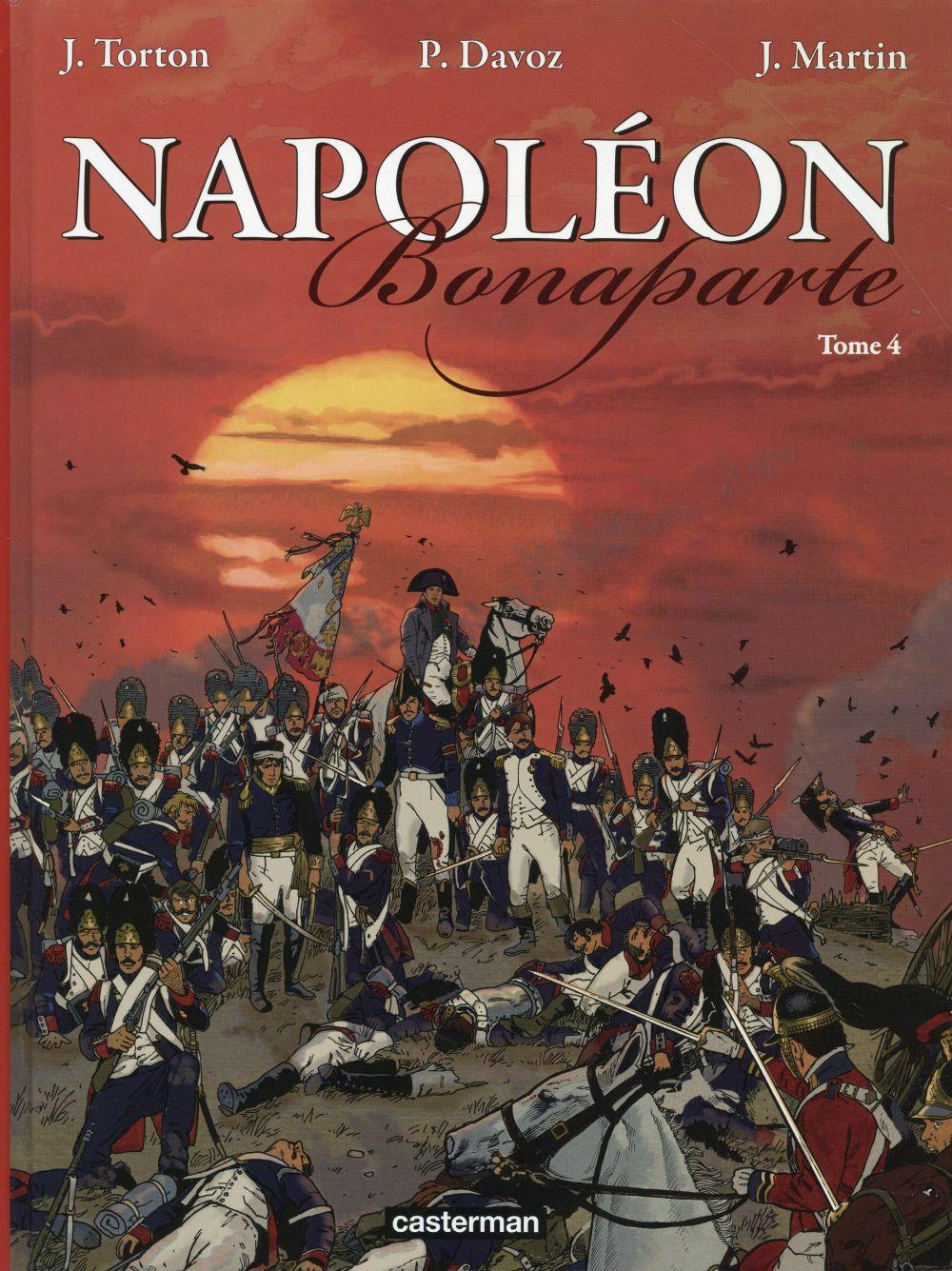 Napoléon Bonaparte - Pascal Davoz - Jean Torton - couverture