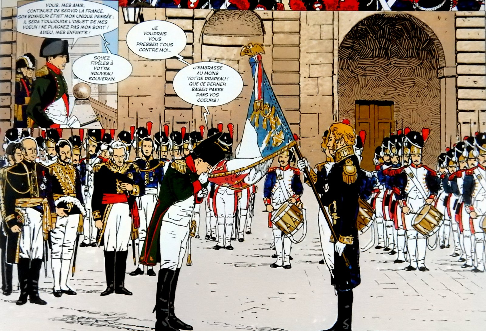 Napoléon Bonaparte - Tome 4 - Pascal Davoz - Jean Torton - Extraits (1)