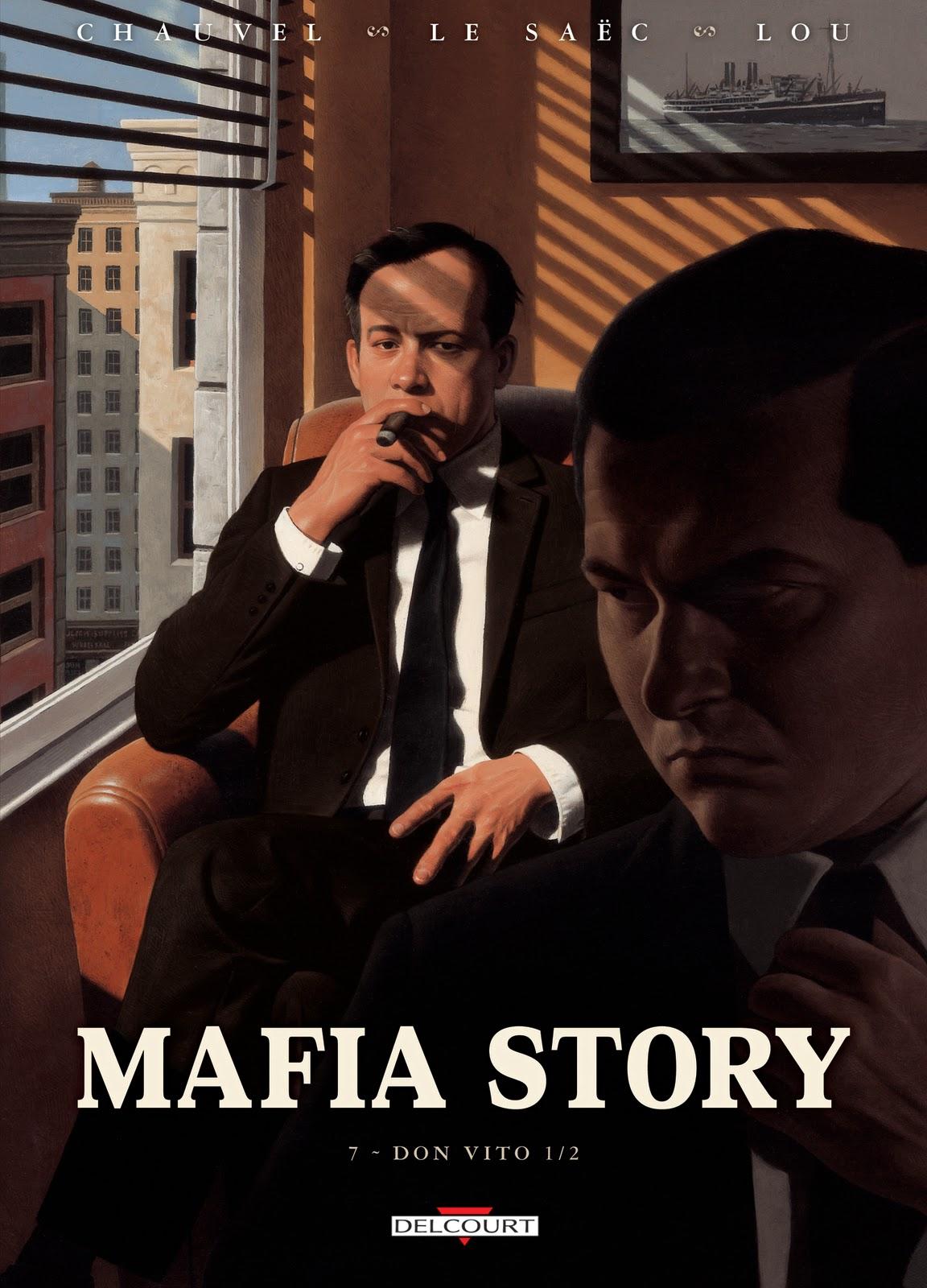 David Chauvel - Delcourt - Interview - Mafia Story