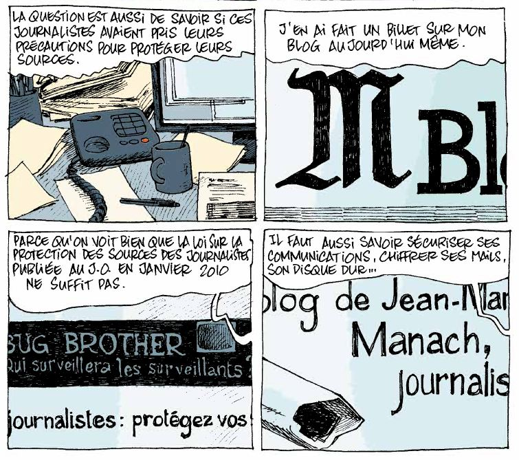 Grandes oreilles et bras cassés - Manach - Nicoby - Protection journalistes