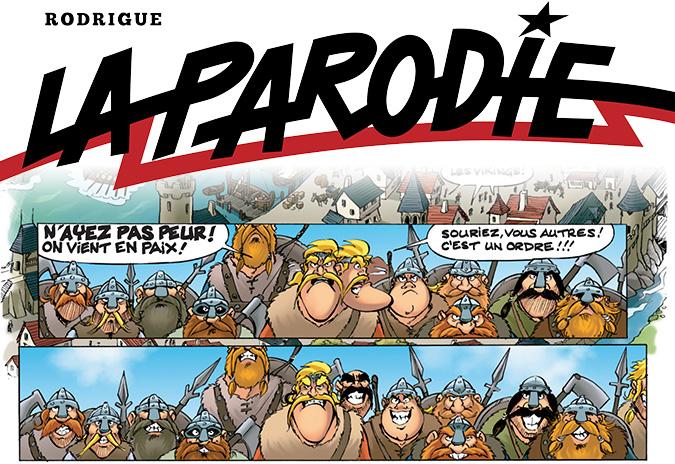 La Parodie - Rodrigue - pub
