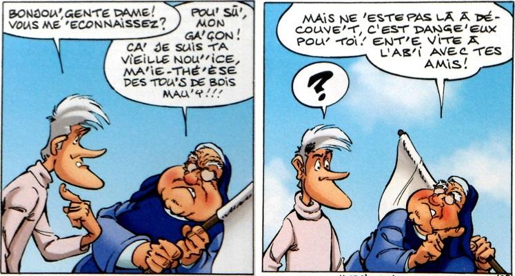 La Parodie - Rodrigue -soeur marie-therese des batignolles