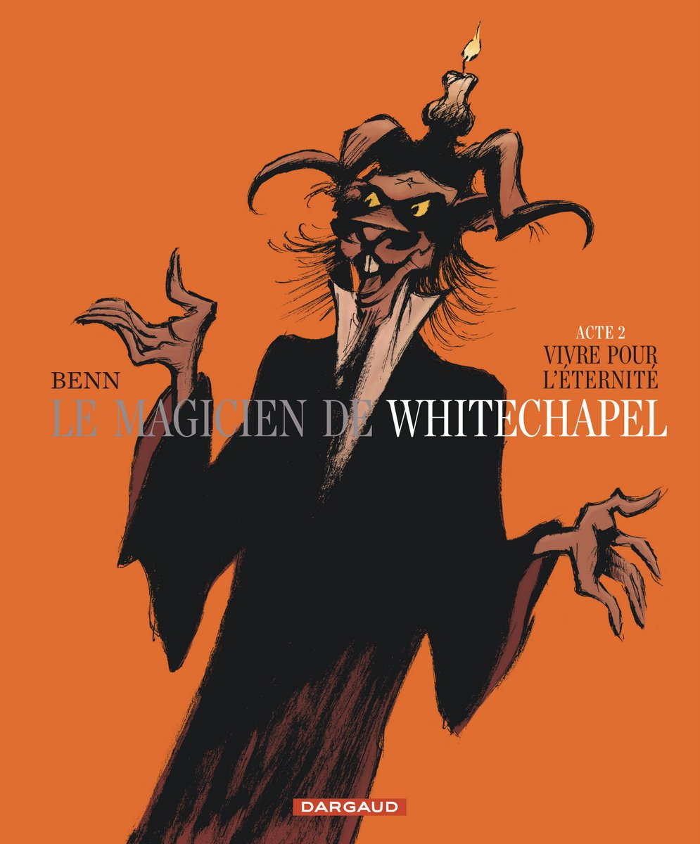 Le Magicien de Whitechapel - Acte II - Benn - Couverture