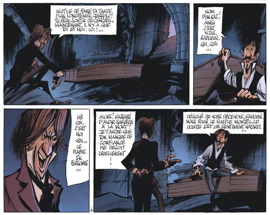 Le Magicien de Whitechapel - Acte II - Benn - diable