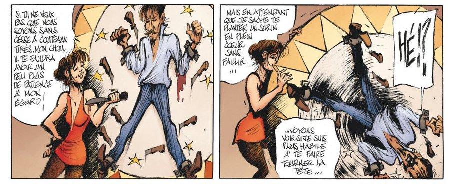 Le Magicien de Whitechapel - Acte II - Benn - lancer couteaux