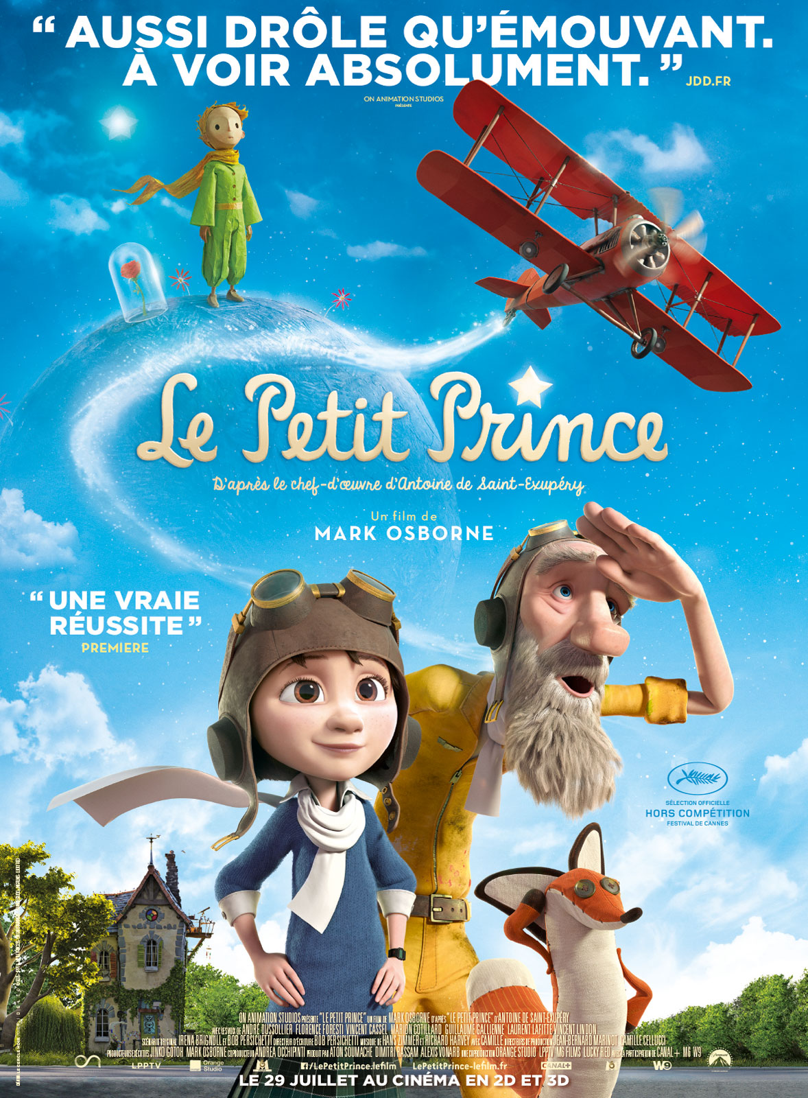 Le Petit Prince - film - Mark Osborne - Paramount - 2015 (3)