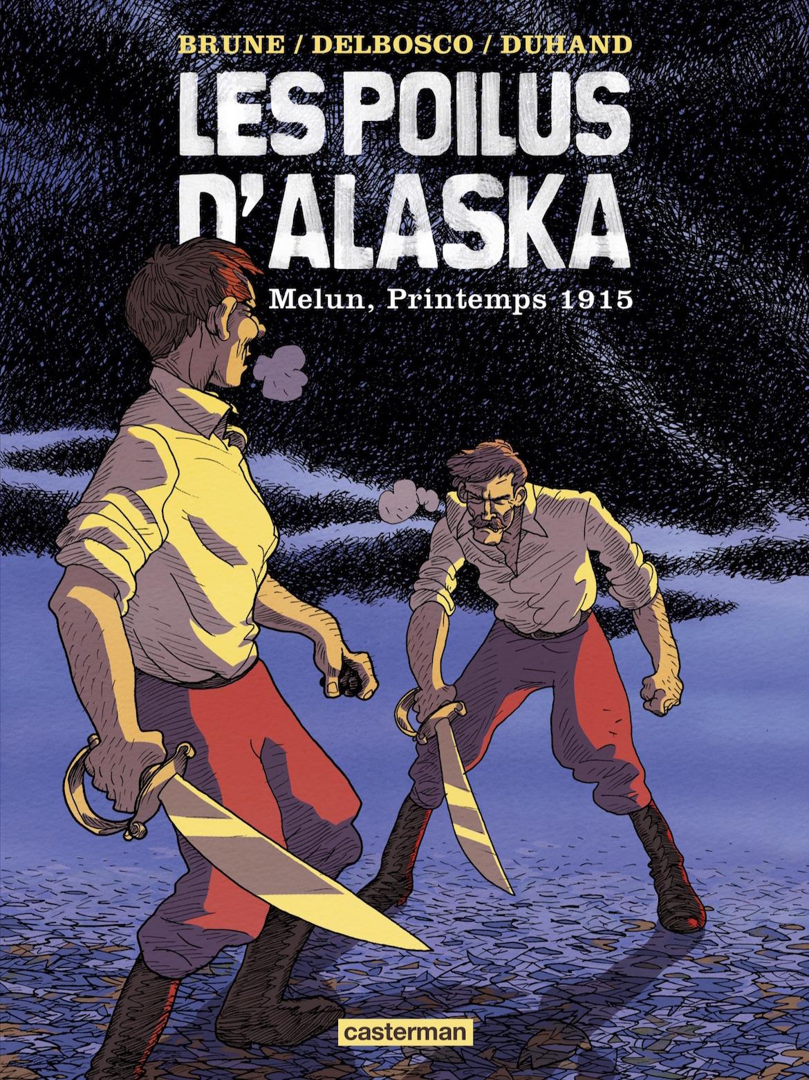 Les poilus d'alaska - tome 2 - Delbosco - Duhand - Brune - Couverture