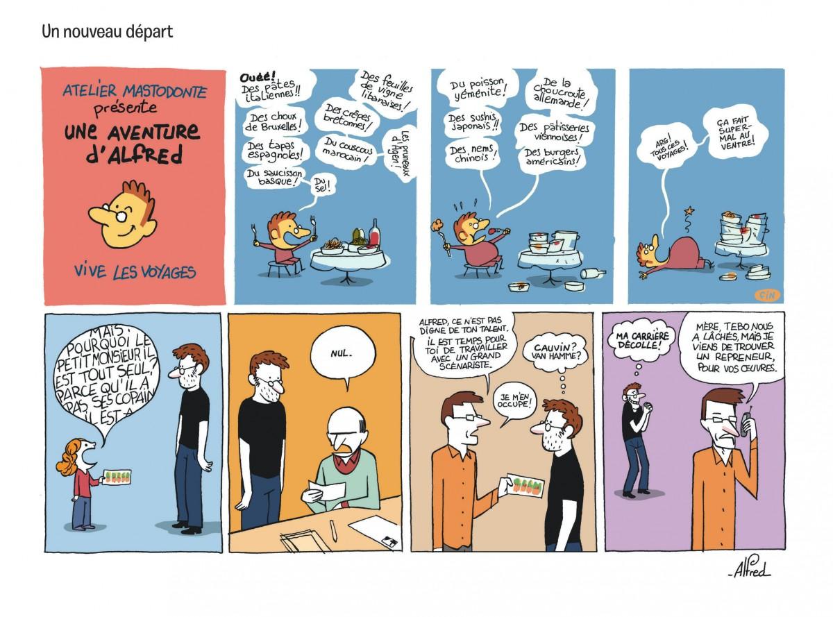 Atelier Mastodonte - Tome 3 - Dupuis - Collectif - Alfred