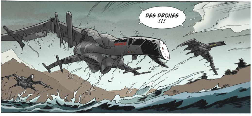 Drones - Tome 1 - Runberg - Louis - Daviet - Attaque drones