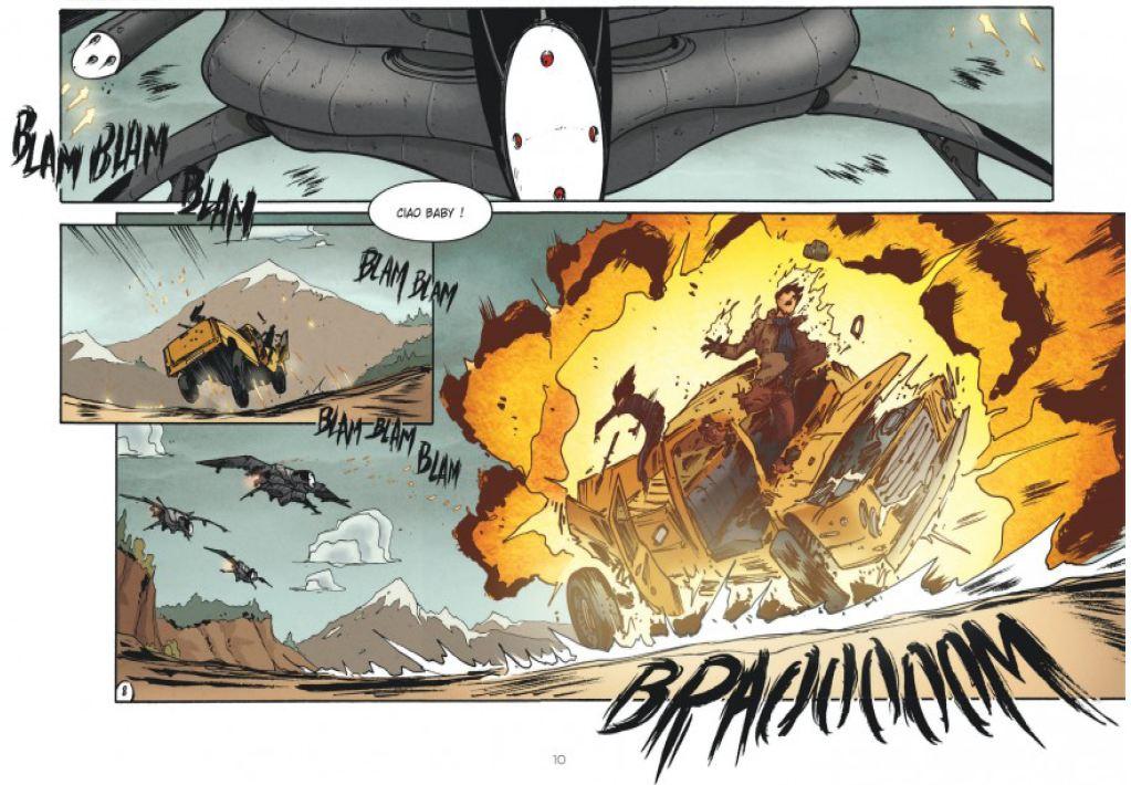 Drones - Tome 1 - Runberg - Louis - Daviet - Explosion