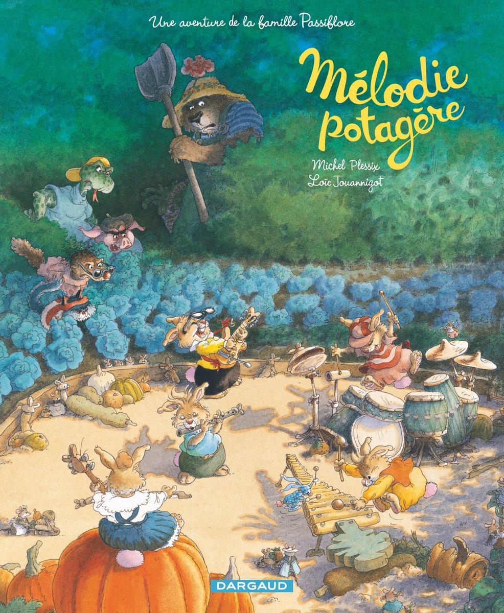 Famille Passiflore - Mélodie Potagère - Plessix - Jouannigot - Couverture