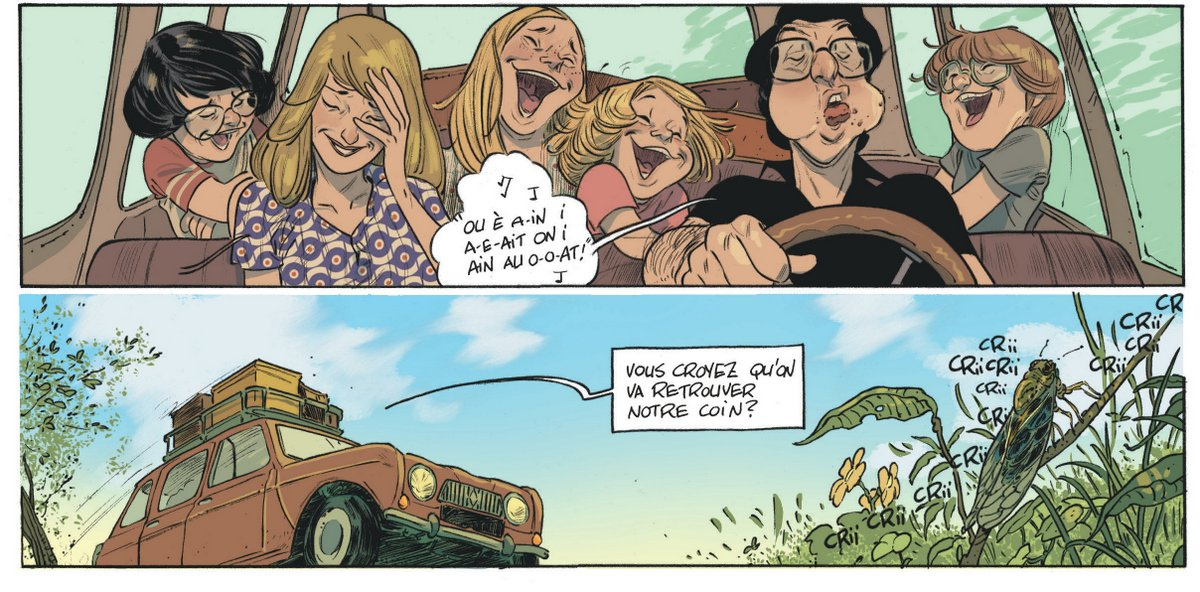 Les beaux étés - Tome 1 - Lafebre - Zidrou - Chanson