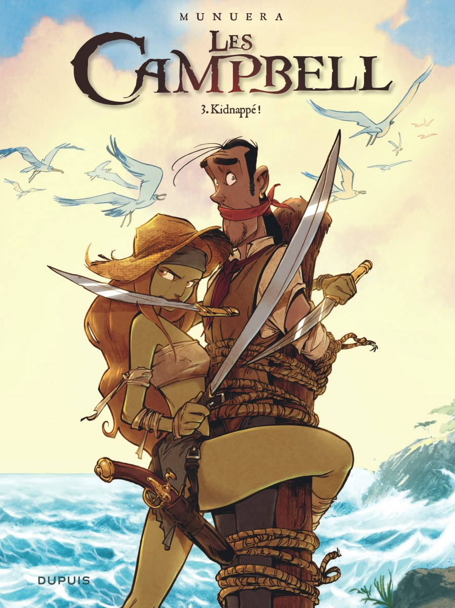 Les Campbell - Tome 3 - Munuera - Couverture