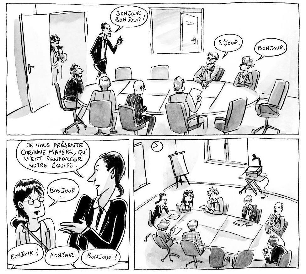 Ma vie est un best-seller - Aurita - Maier - réunion de bureau