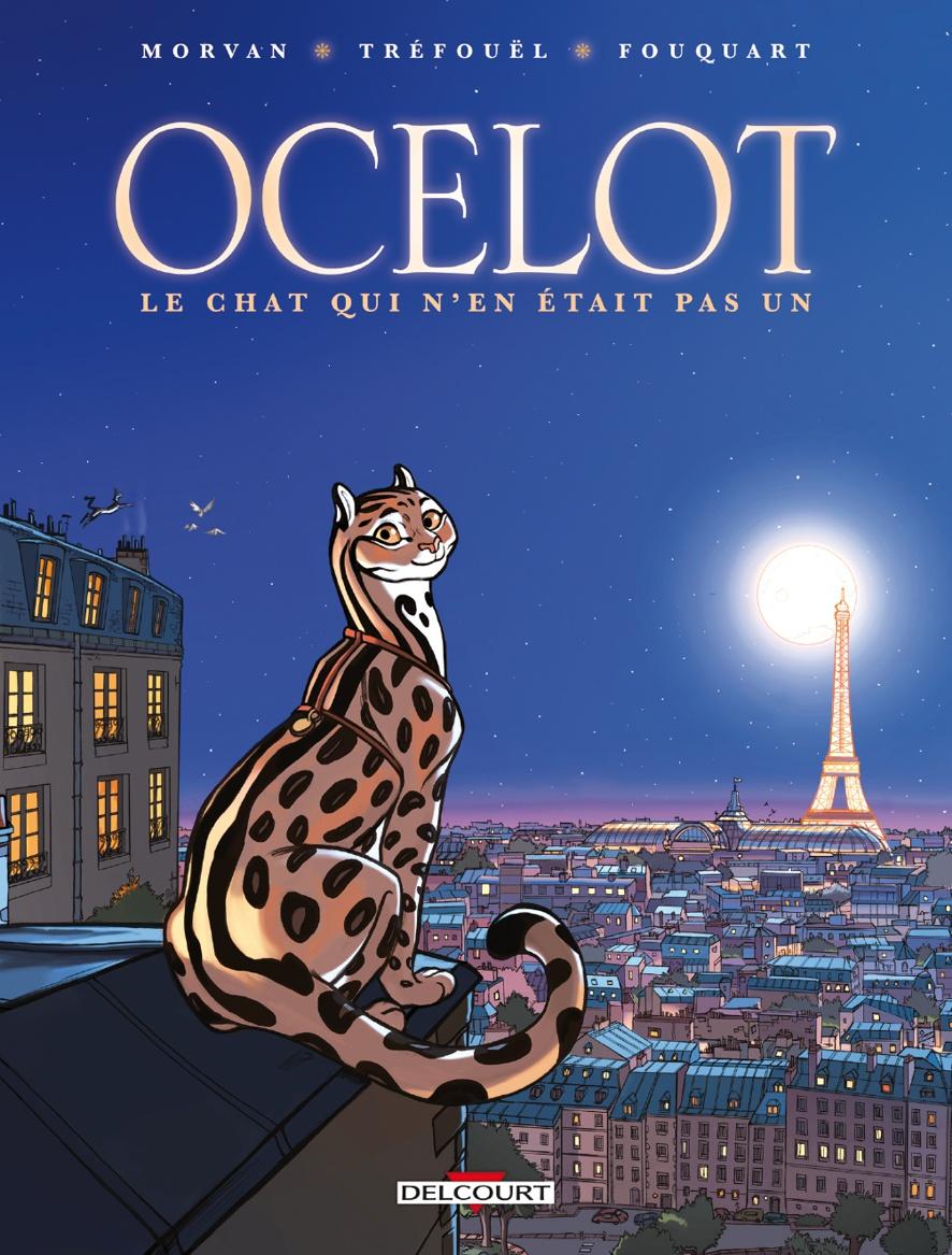 Ocelot - Morvan - Tréfouël - Fouquart - Couverture