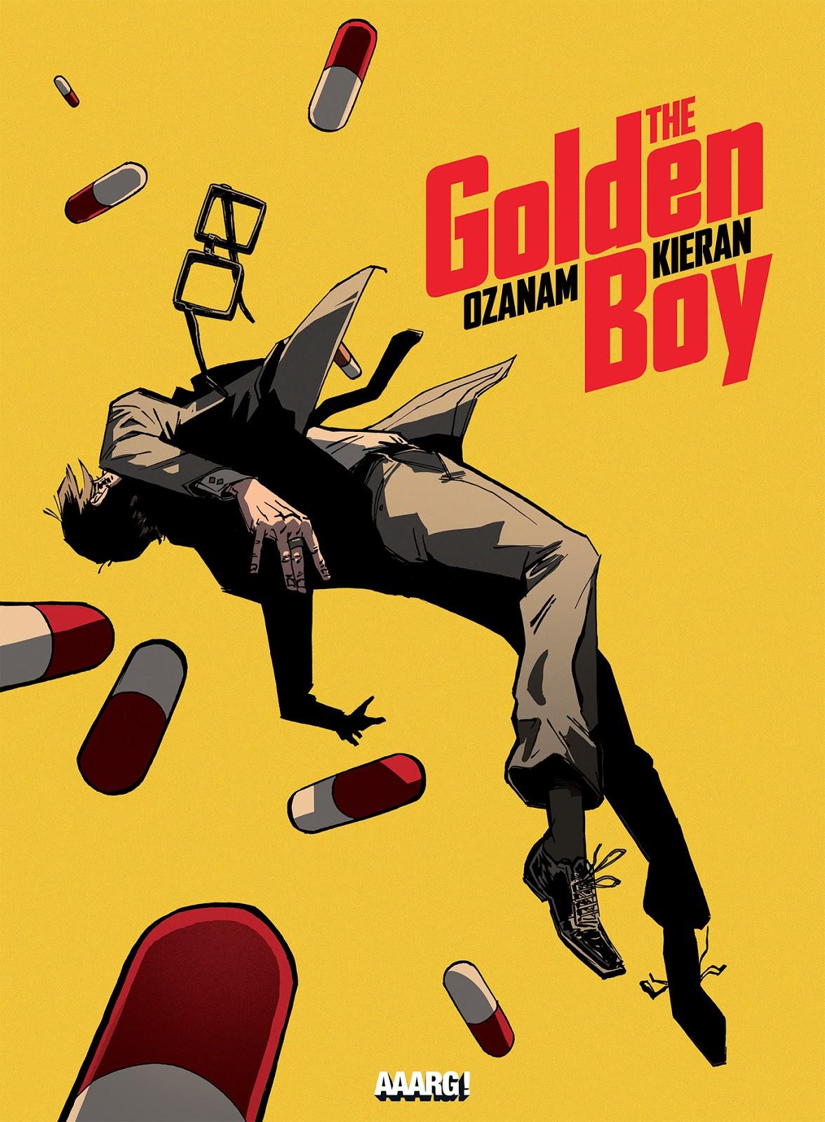 Golden Boy - Ozanam -Kieran - Aaarg! - Couverture