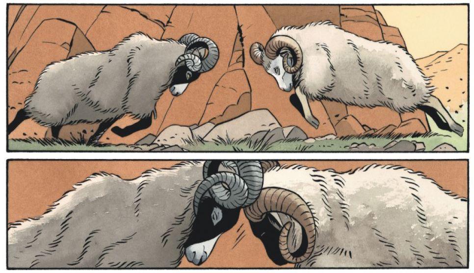 Le crime qui est le tien - Zidrou - Berthet - moutons