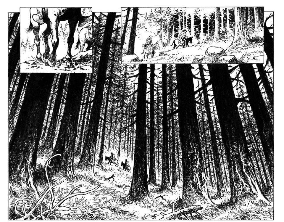 Le maître d'armes - Dorison - Parnotte - forêt immense