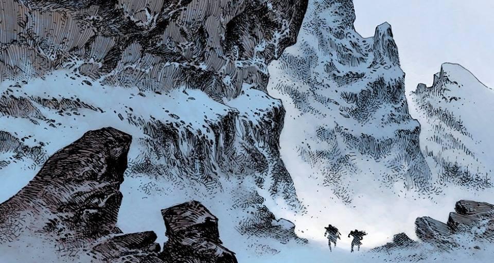 Le maître d'armes - Dorison - Parnotte -montagne