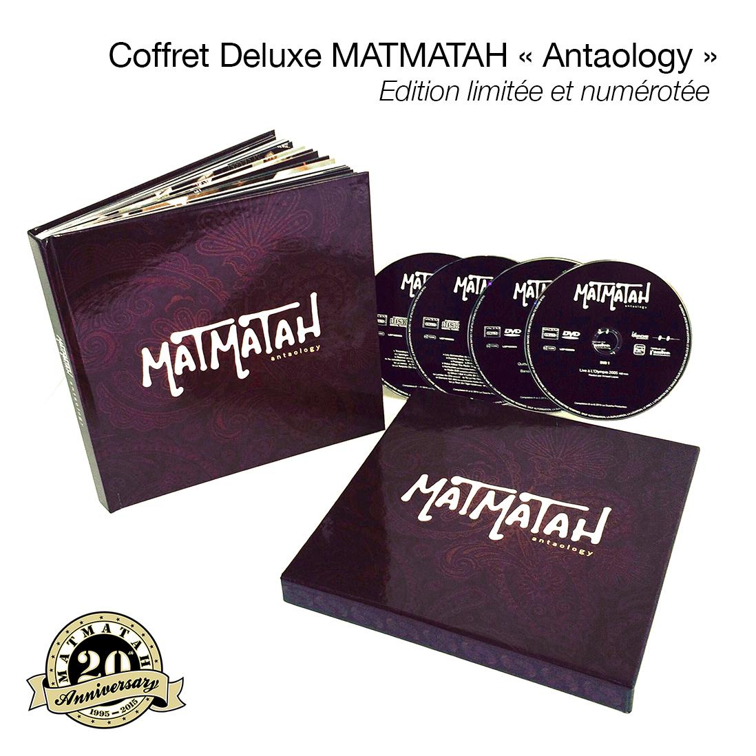 Matmatah - ANtaology - coffret deluxe