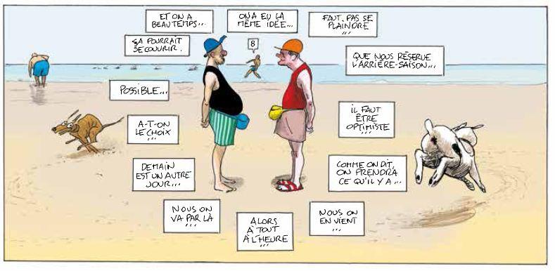 Vive la marée - Pascal Rabaté - David Prudhomme - Promeneurs de chiens