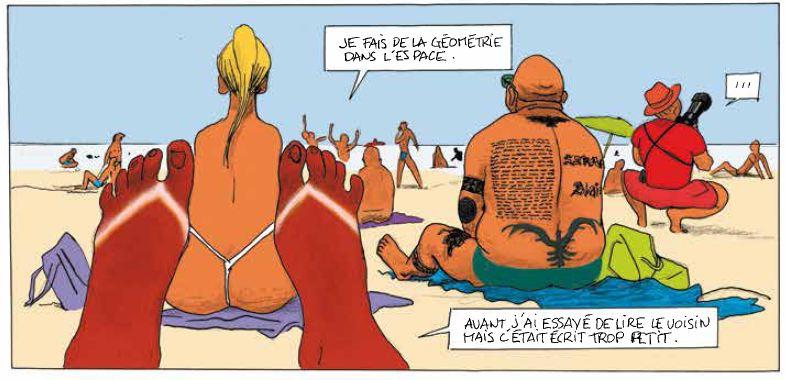 Vive la marée - Pascal Rabaté - David Prudhomme - string