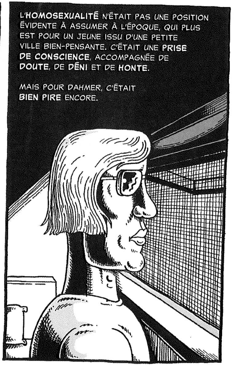 Derf Backderf - mon ami Dahmer - homosexualite